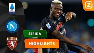 OSIMHEN BEWIJST ZICH MAAR WEER EENS! 🤩🇳🇬 | Napoli vs Torino | Serie A 2021/22 |