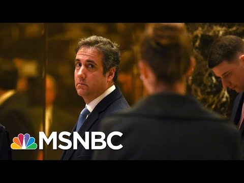 Cohen Used Trump Organization Email For Stormy Daniels Arrangements | Andrea Mitchell | MSNBC