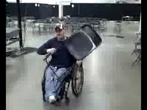 Why You Should Never Mess With A Guy In A Wheelchair
