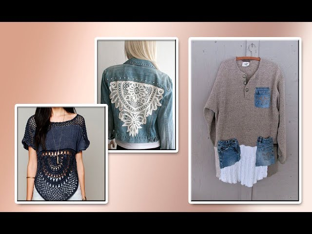 Модели вязания Джинс +трикотаж#1
