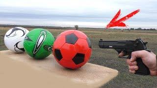 GUN VS SOCCER BALL TEST