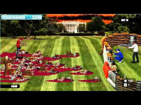 Obama vs zombies last 4 levels youtube