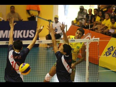 Peru vs Brasil - XXI Sudamericano Masculino Juvenil.