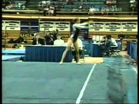 Chrissy Lamun   2004 Pac 10 Championships Floor Exercise