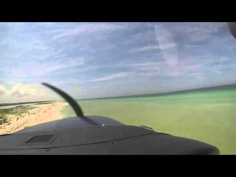 Cessna 206 Flying Low