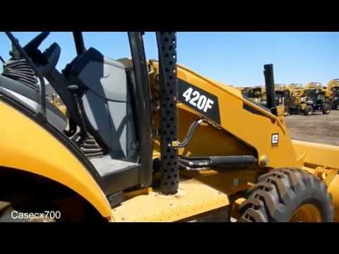 CAT 420F Loader Backhoe Walkaround