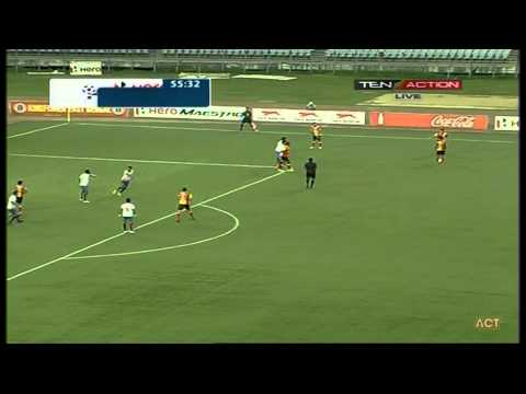 Hero I-League 2015 Kingfisher East Bengal (1) vs Mumbai FC (1) 18-4-2015.flv