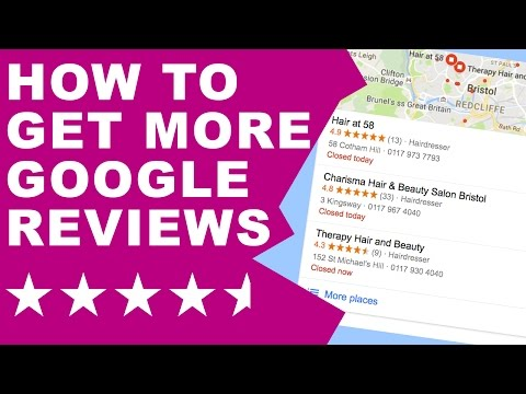 How to Increase Your Google Reviews for Your Business!