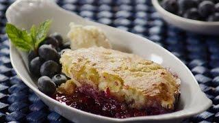 How to Make Blueberry Cobbler | Blueberry Recipes | Allrecipes.com