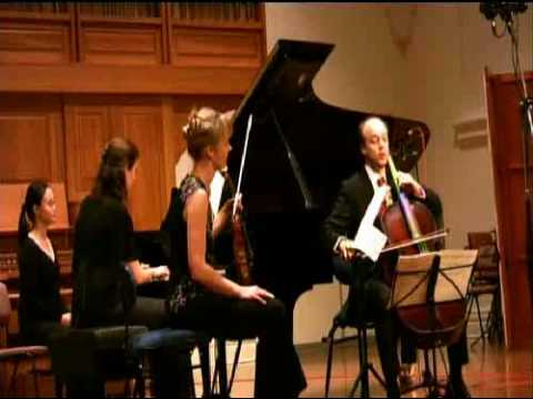 Seraphim Trio perform Mendelssohn trio