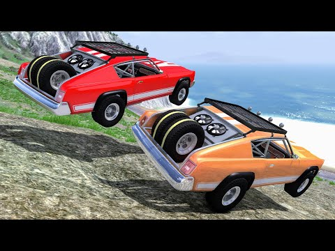 Off Road Crashes & Fails #32 – BeamNG Drive | CrashBoomPunk