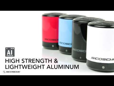 boomCAN BT - Wireless Bluetooth Speaker  - SCOSCHE