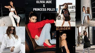 OLIVIA JADE X PRINCESS POLLY REVEAL (try-on)