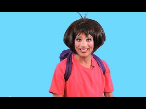 Bianca Del Rio Snatch Game Audition:  Dora The Explorer !