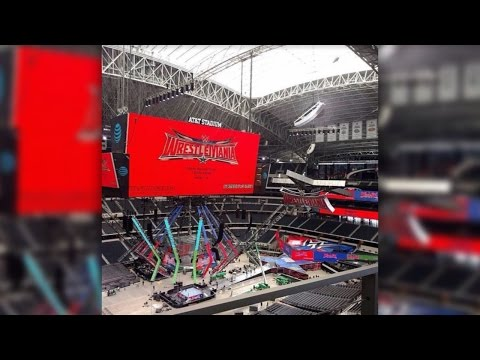 Possible 40-45 Foot Stunt Being Worked On For WrestleMania