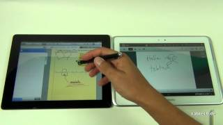 Samsung Galaxy Note 10.1 vs. new Apple iPad 3 (Full HD)
