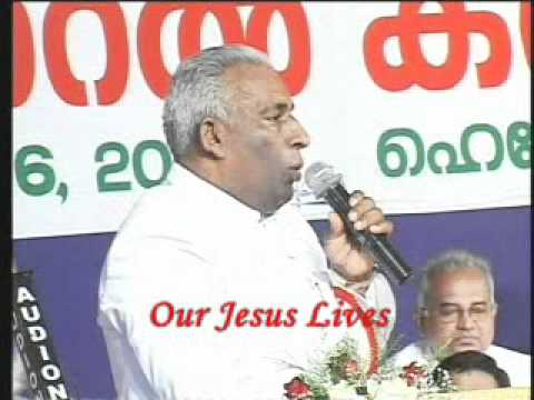 Kumbanad Convention 2011, Pr Baby Varghese Mark 16 15 20,Part 3