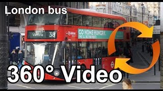 #360 video London bus ride