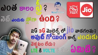 know jio sim full information || in Telugu తెలుగులో  Tech-Logic