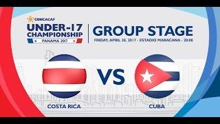 CU17PAN: Costa Rica vs Cuba
