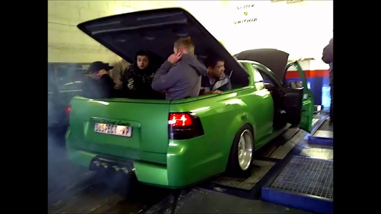 Chevrolet Lumina Ute On Dyno 670kw 1069nm Youtube