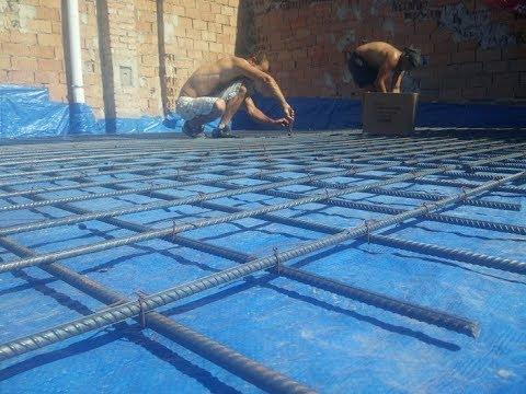 fafödém megerősítés, fafödém betonozása, vasbeton födém, monolit ...