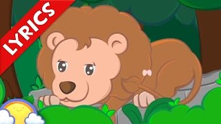 I Spy an Animal + Lyrics! | Animal Song for Kids | CheeriToons