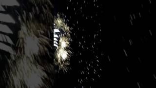 Queima de fogos ao vivo 2017 na praia de Boa Viagem