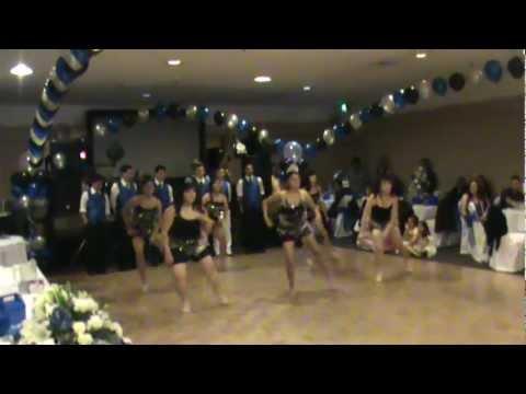 Nicole's Quinceanera Surprise Dance Samba Hey Magdalena. 2012 video