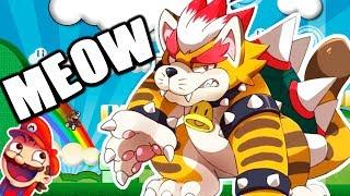 IMPOSIBLE ESCAPAR DE BOWSER GATO | Super Mario Maker 2