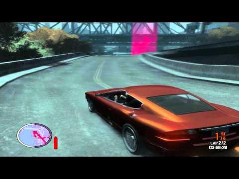 Corridas muito loucas no GTA IV