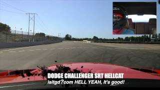 2015 DODGE Challenger SRT HELLCAT Quarter Mile