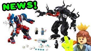 NEW LEGO Marvel Spider-Man & Venom Mech Set Revealed + My Thoughts