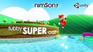TUBBY SUPER CAT - Mario Odyssey style Platformer - Swimming Update!