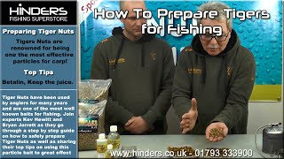 How to Prepare Tiger Nuts for Fishing