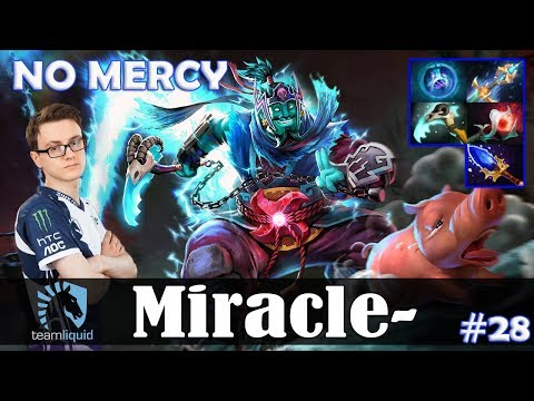 Miracle - Storm Spirit MID | NO MERCY 7.19 Update Patch | Dota 2 Pro MMR Gameplay #28