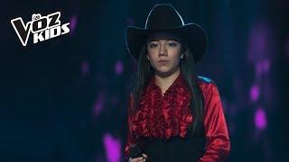 Laura Vanessa canta Como una Flor - Audiciones a ciegas | La Voz Kids Colombia 2018