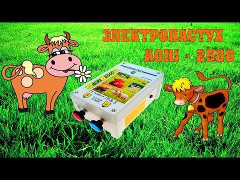 Электропастух AGRI - 2500 установка и проверка / Семья в деревне
