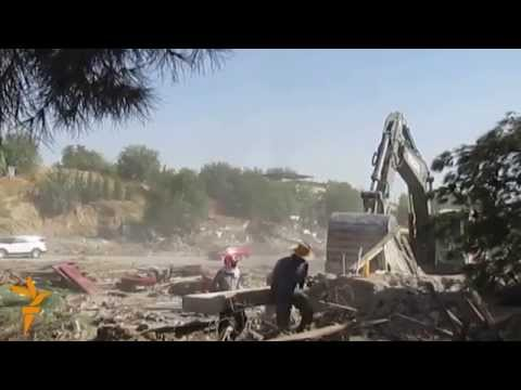 Turkmenistan Reduces Suburbs To Rubble As Demolition Program Continues