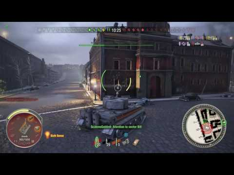 World of Tanks Xbox one TIGER 1  7 KILLS