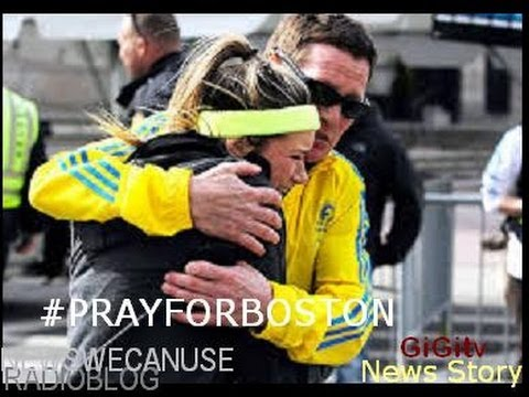 Boston Marathon Explosions!...(Boston News story.. (Keep Boston in your Prayers..