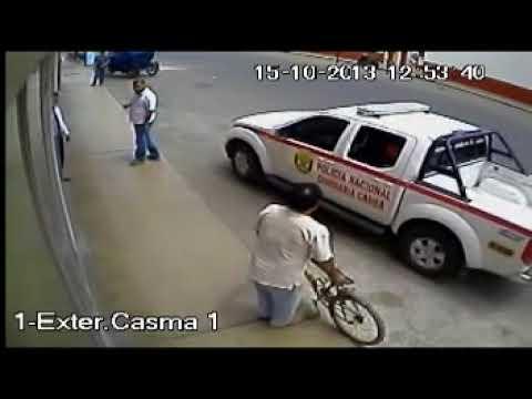 ASALTO CAJA TRIJILLO - CASMA CAMARA 1 EXTERNA