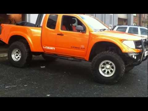 MONSTER LIFTED NISSAN NAVARA D40 FRONTIER PRERUNNER GFORCE4X4 WE CAN BUILD YOUR DREAM TRUCK