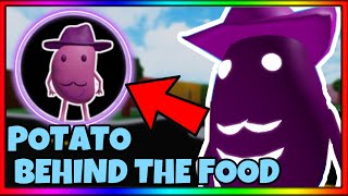 """How To Get """"Potato Behind The Food"""" Badge + Potato Skin 