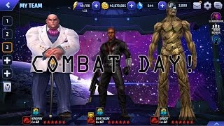 Marvel Future Fight: AB - COMBAT DAY 274k | Deathlok / KingPin / Groot (No T2)