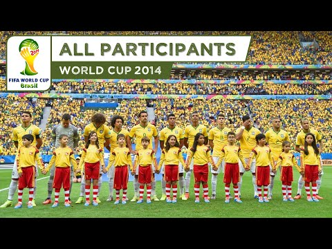FIFA World Cup 2014 Brazil - All Participants (HD)