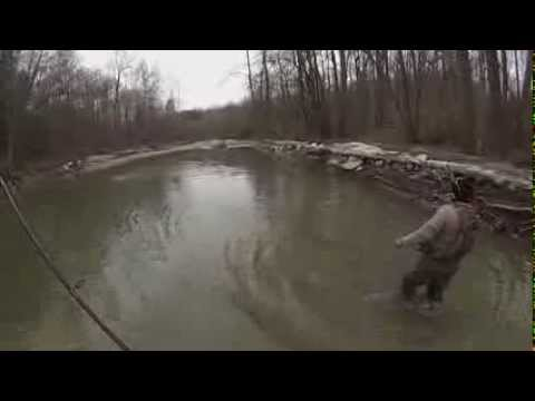 Erie Trib Centerpin Steelhead Fishing