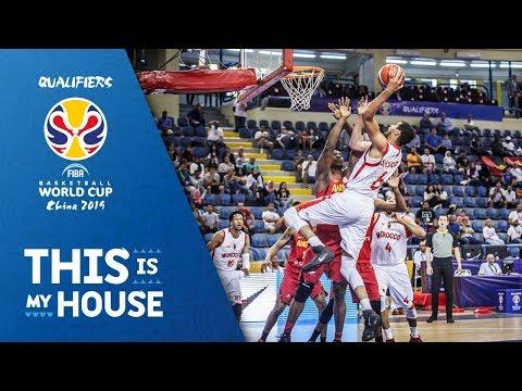 Morocco v Angola - Highlights - FIBA Basketball World Cup 2019 - African Qualifiers