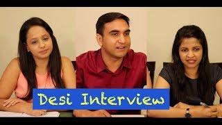 Desi boy in Centre Interview -   Lalit Shokeen Films  