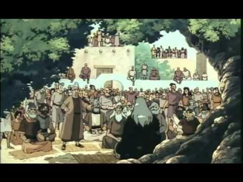 Anime Biblico História da Biblia 19 - Um rei para Israel - Br